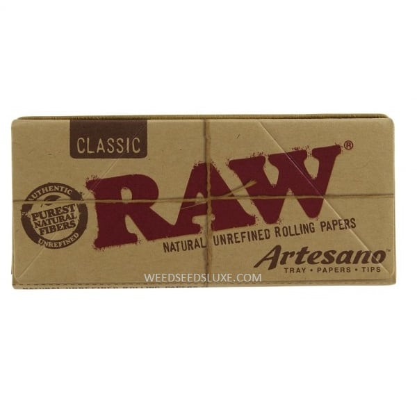 RAW King Size Slim with Tips Box.