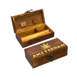 WOODEN BOX AMSTERDAM