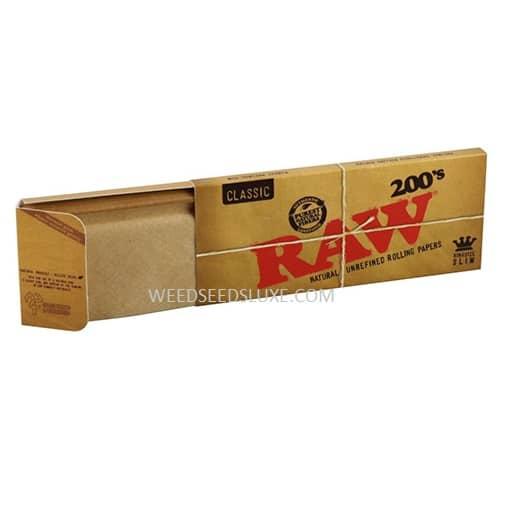 RAW Classic 200's kingsize slim
