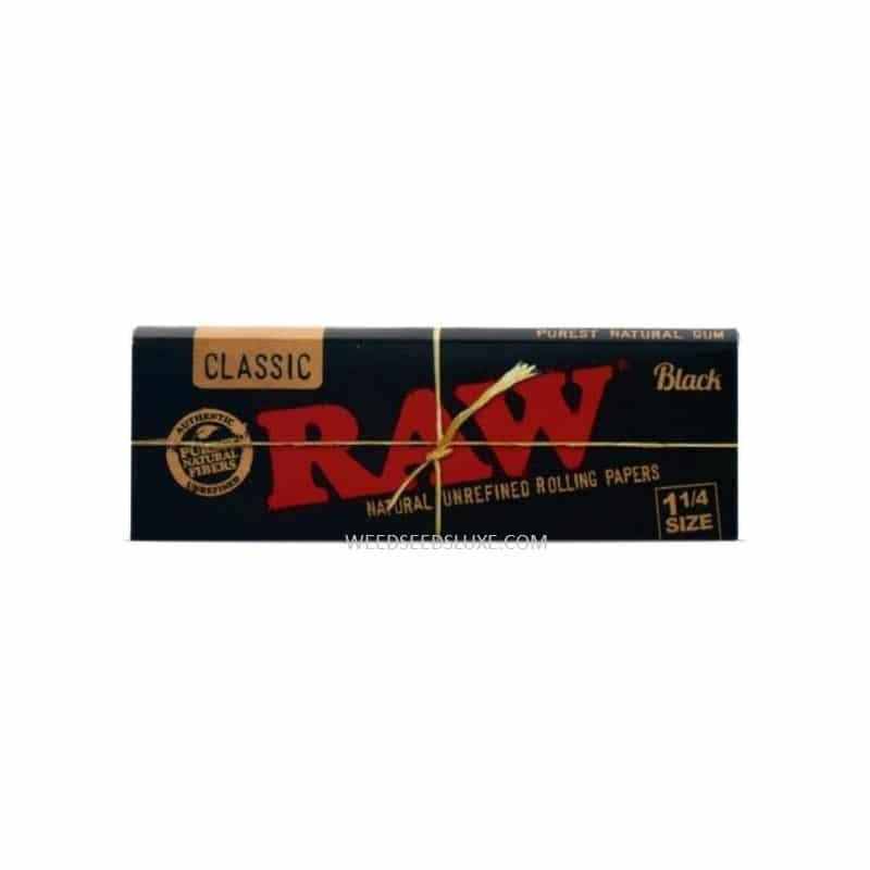 RAW Classic Black 1 1/4 size