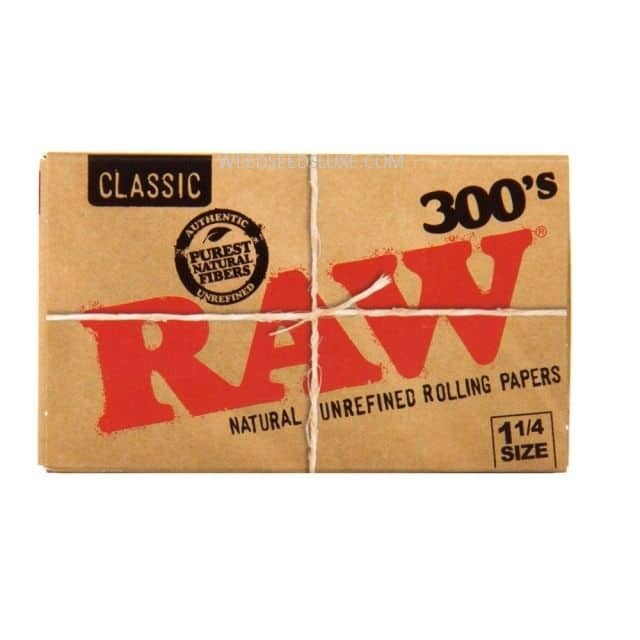 RAW CLASSIC 300's 1 1/4 size