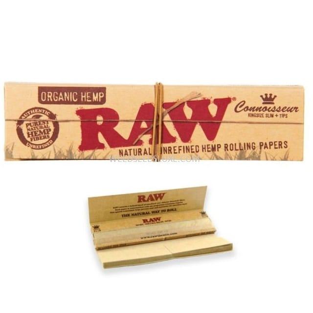 RAW Classic Kingsize Slim + Cartons