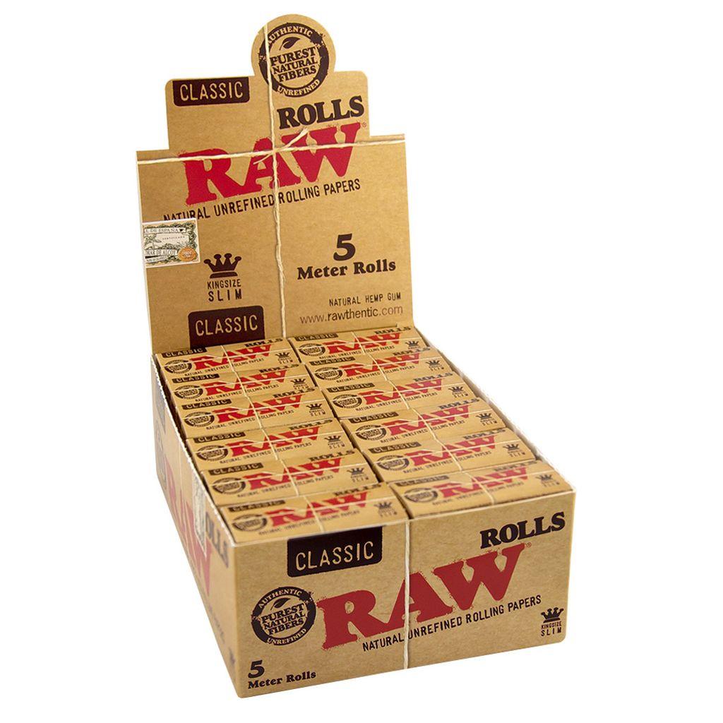 Rolls Raw Kingsize Slim 5M