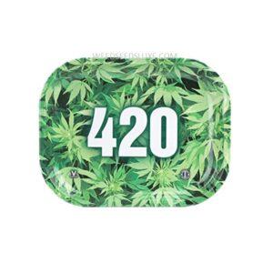 """WeedSeedsLuxe vous a sélectionné une variété de produits pour fumeur comme le Plateau de roulage """"420"""" en Metal"""