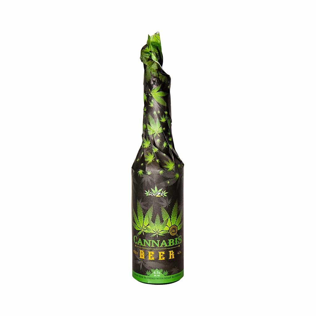 """Bière au Cannabis """"Black"""""""