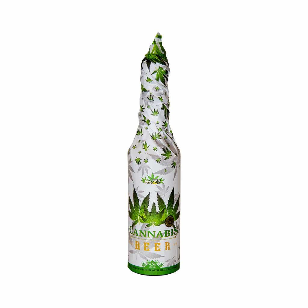 """Bière au Cannabis """"White"""""""
