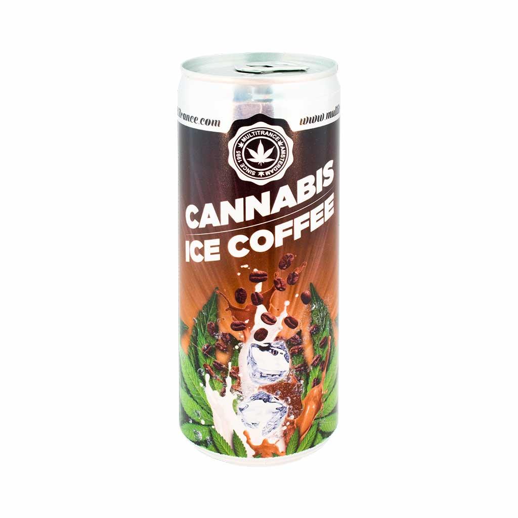Café Glacé au Cannabis