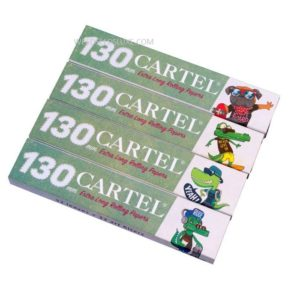 Cartel Extra Long Rolling Papers 130 mm