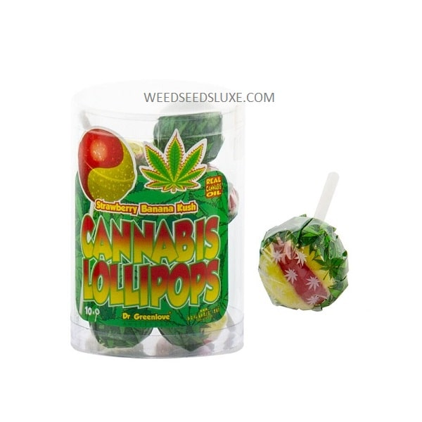 lollipops strawberry banana