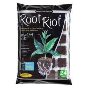 Cubes de germination Root Riot