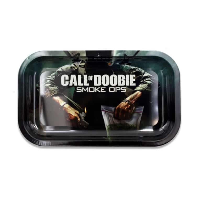 "Plateau de roulage ""Call of Boodie: Smoke Ops"" en Métal"