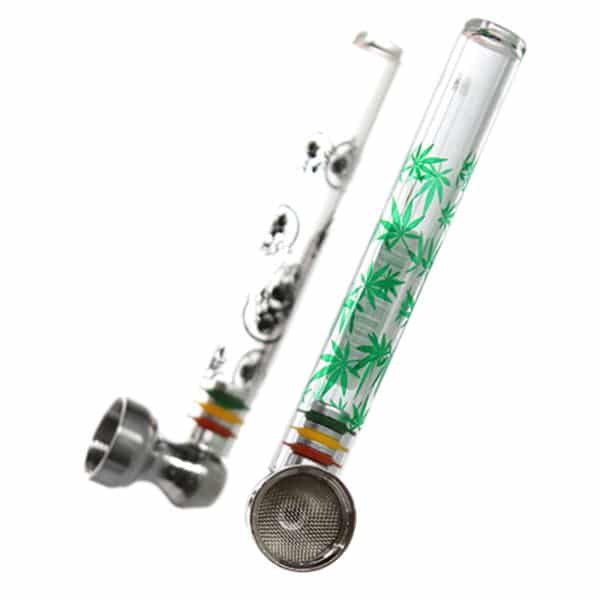 Pipe en Verre Champ High