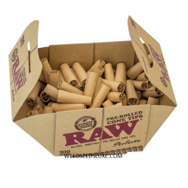 Cartons Coniques Pré-roulés x100 RAW