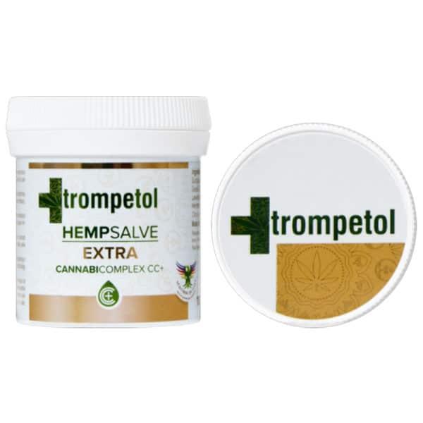 Pommade au CBD Trompetol Extra
