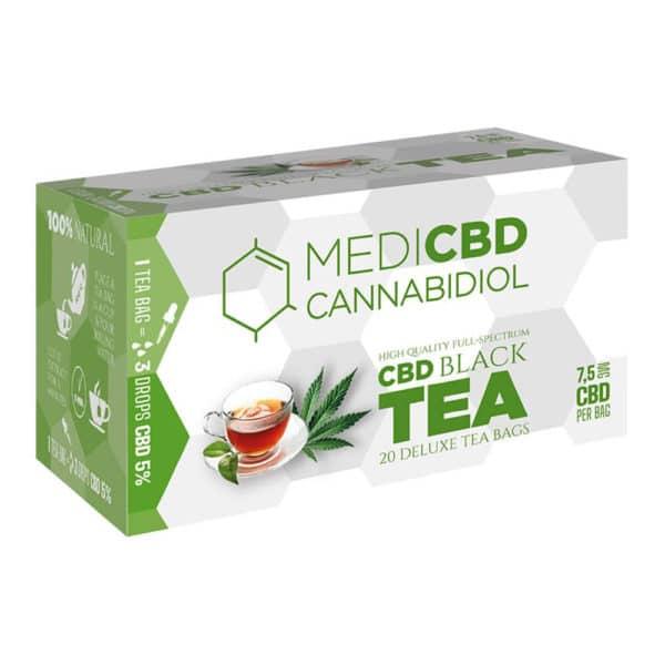 MediCBD - Thé au CBD thé noir