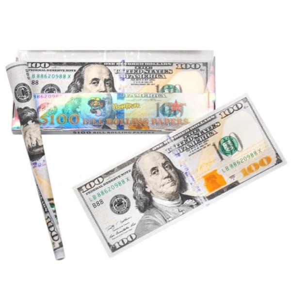 Honeypuff Feuilles Dollars et Euros