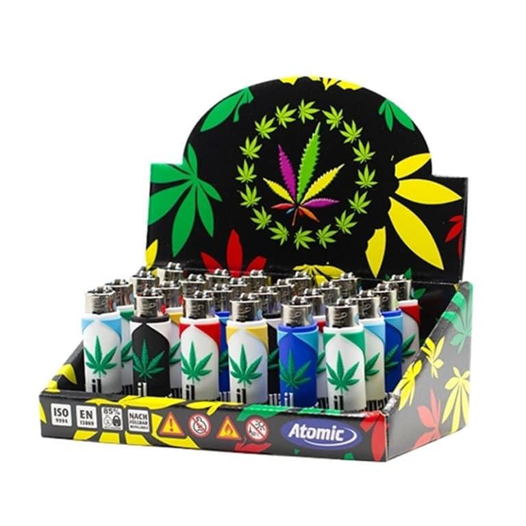 "Briquet Silicone ""Marihuana"""